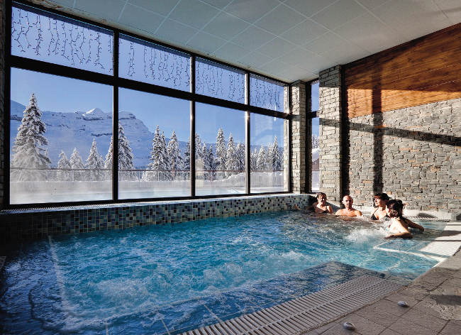 Flaine, Terrasses d'Eos, Indoor Pool