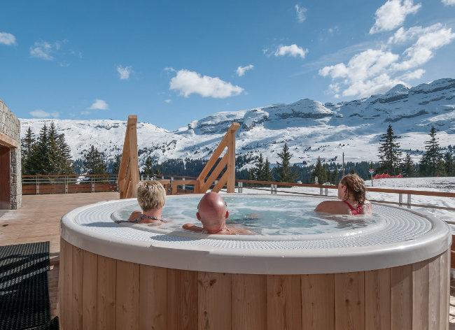 Flaine, Terrasses d'Helios, Hot Tub