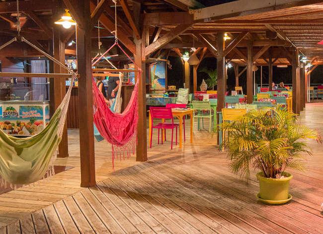 Guadeloupe, Premium Residence Les Tamarins - Le Balou Beach Bar / Restaurant