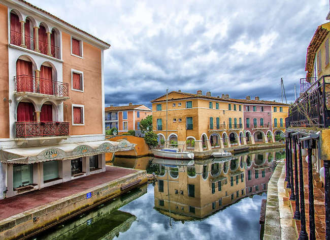 Port Grimaud, Holiday Marina Port - 'Venice' of the Riviera
