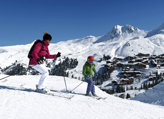 La Plagne, Les Hauts Bois, Family Ski