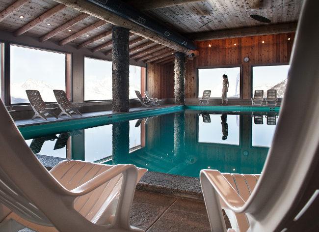 La Plagne, Les Hauts Bois, Pool