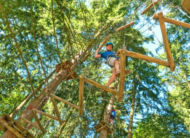 Domaine Des Ormes High Ropes 1 600h