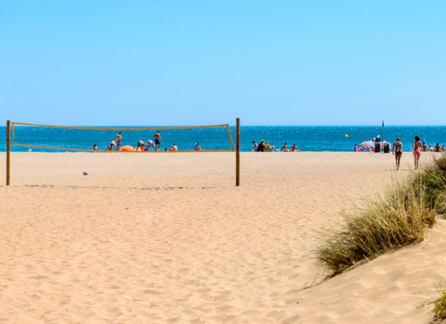 Les Sablons, Portiragnes Plage - Plenty of space to relax or play