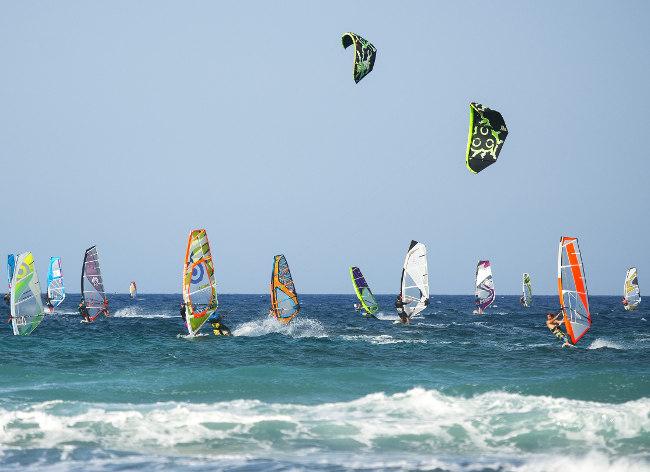 Fuerteventura - Windsurfers