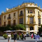 Seville, Plaza virgen de los reyes