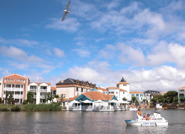 Port Bourgenay - Boating Lake
