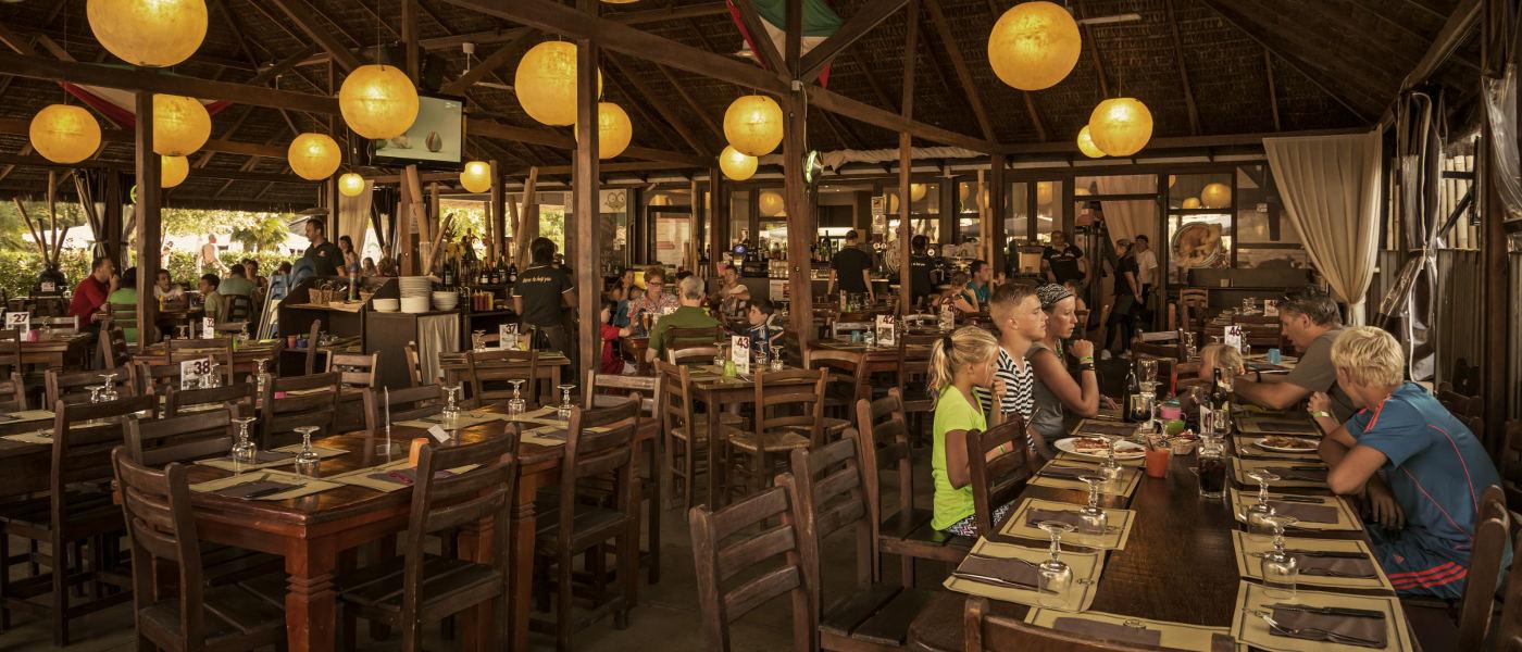 Altomincio Family Park Restaurant Inside