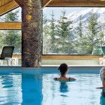 Meribel Pool View