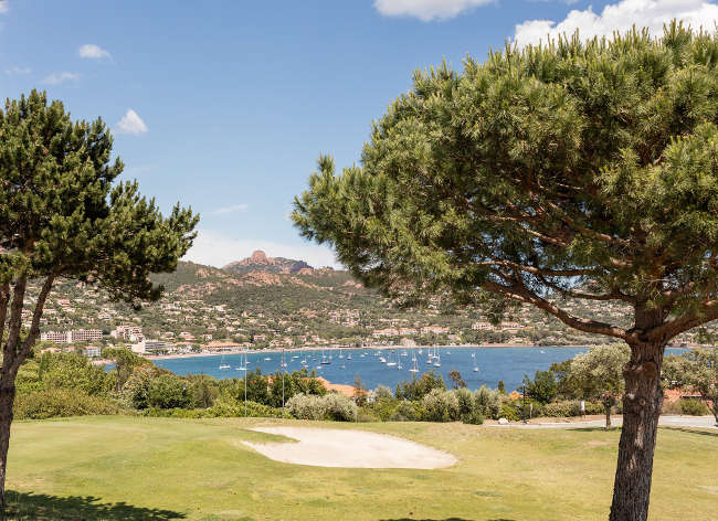 Riviera, Cap Esterel - Golf View