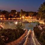 Altomincio Family Park Pool Night
