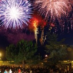 Bella Italia Lake Fireworks