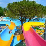 Bella Italia Stripey Water Slide