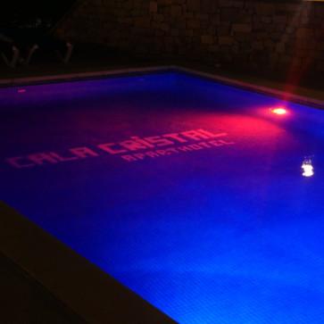 Cala Cristal Nighttime Pool