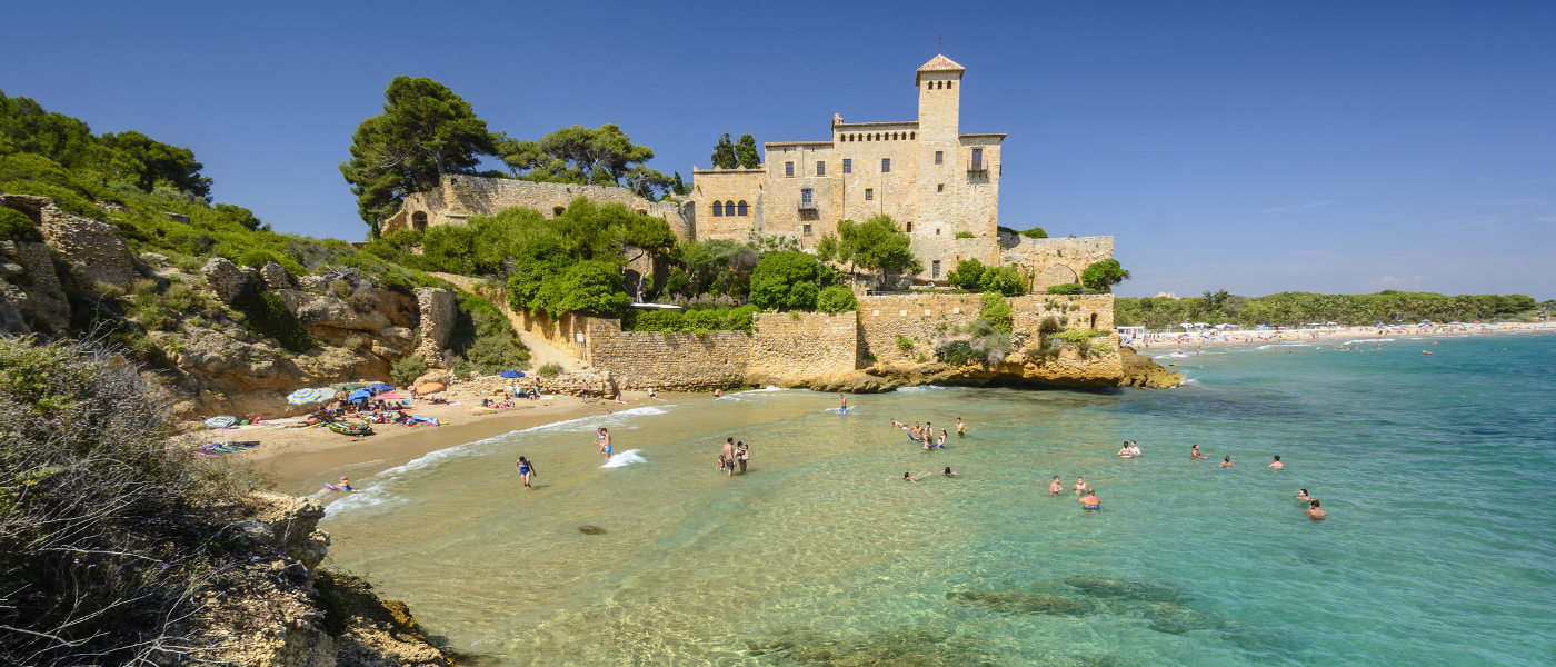 Costa Dorada, Tamarit Beach and Castle South