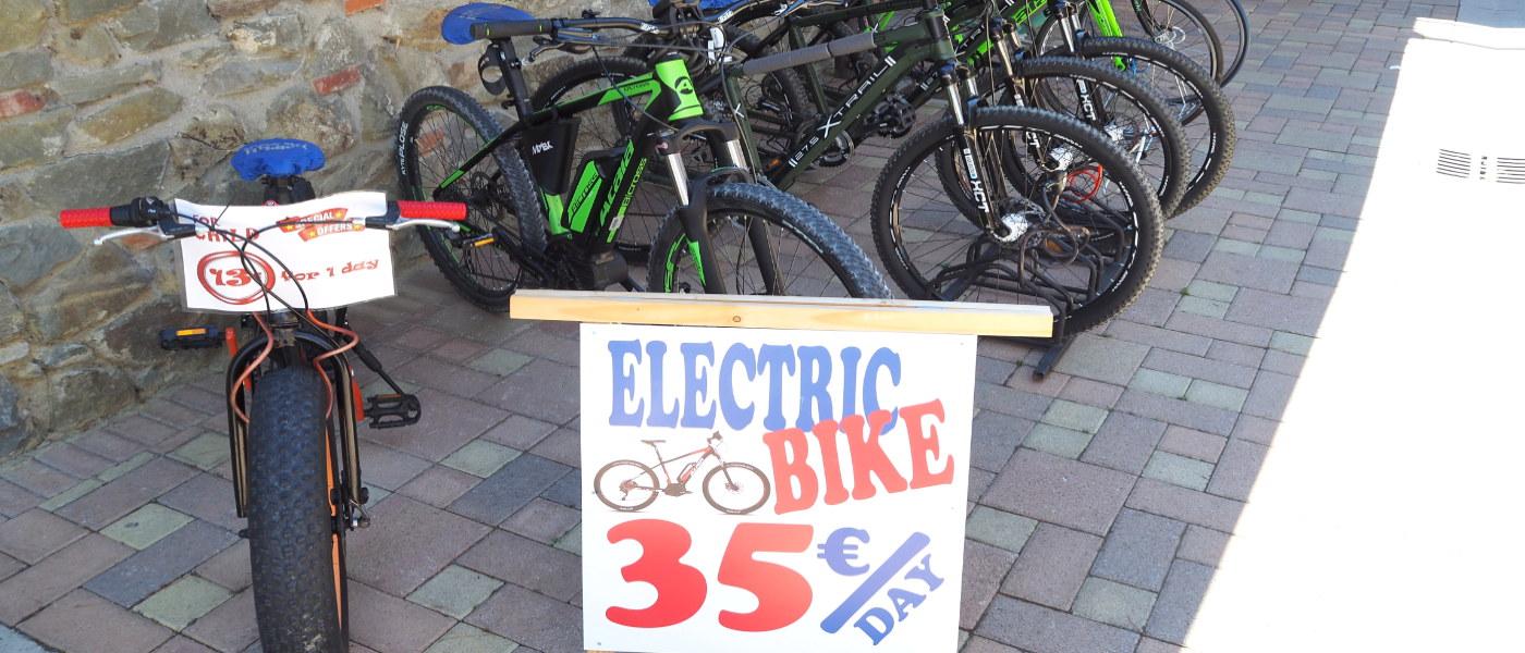 Firefly Holidays Norcenni Bike Hire
