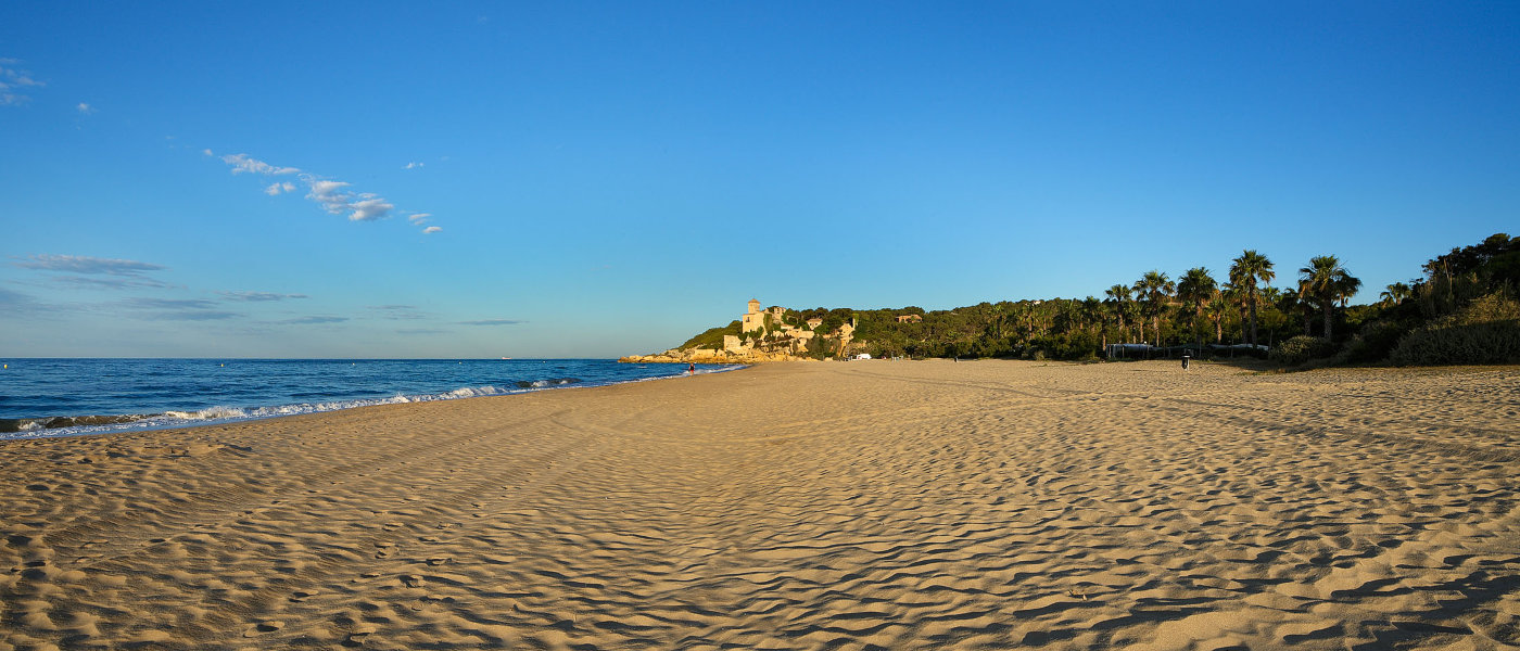 Tamarit Park Beach and Castle