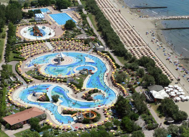 Pra Delle Torri Aerial Pools and Beach 600h