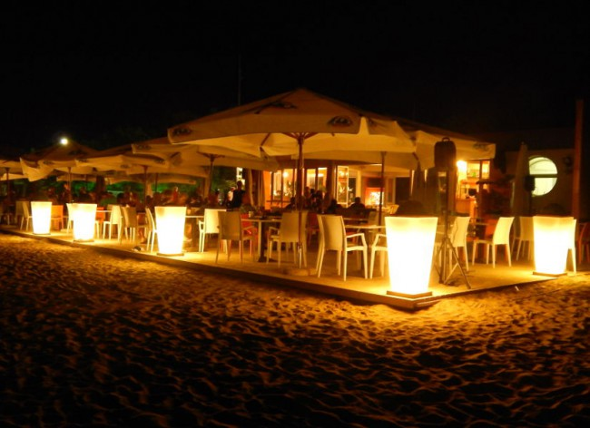 Pra Delle Torri Beach Restaurant Night 600h