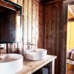 Holiday Marina Safari Tent Bathroom