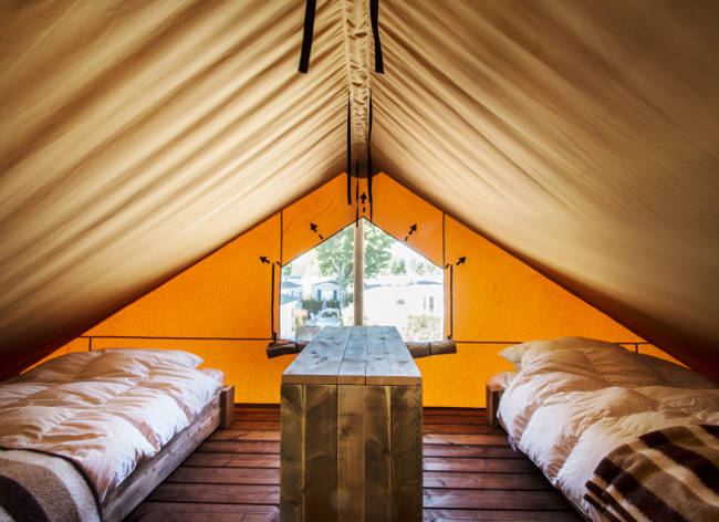 Holiday Marina Safari Tent Mezzanine