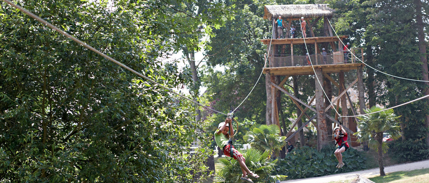 Domaine des Ormes, High Ropes Hero