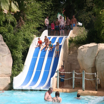 Domaine des Ormes, Main Pool Waterslides