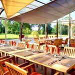 Domaine Des Ormes Clubhouse Terrace