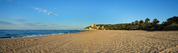 Costa Dorada, The beach at Tamarit Park