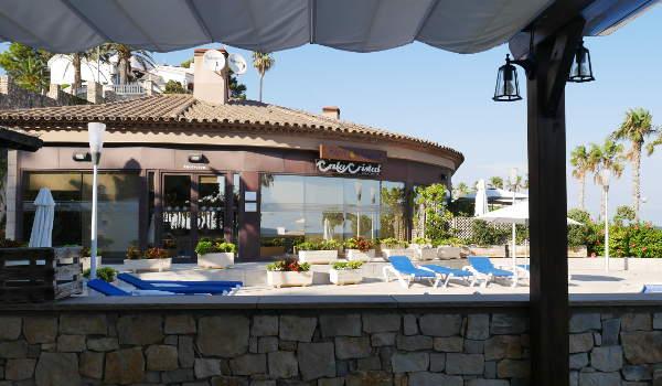 Costa Dorada, Residence Cala Cristal, From the Calma Restaurant