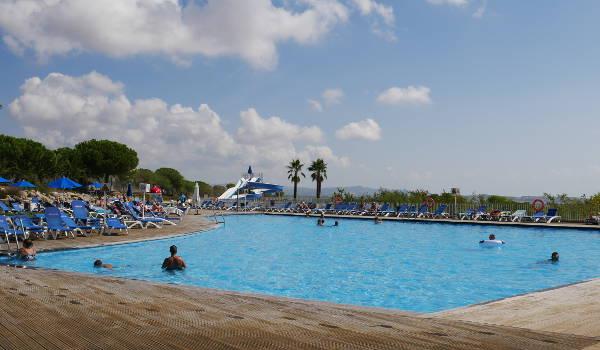 Vilanova Park Main Pool and Slide Area