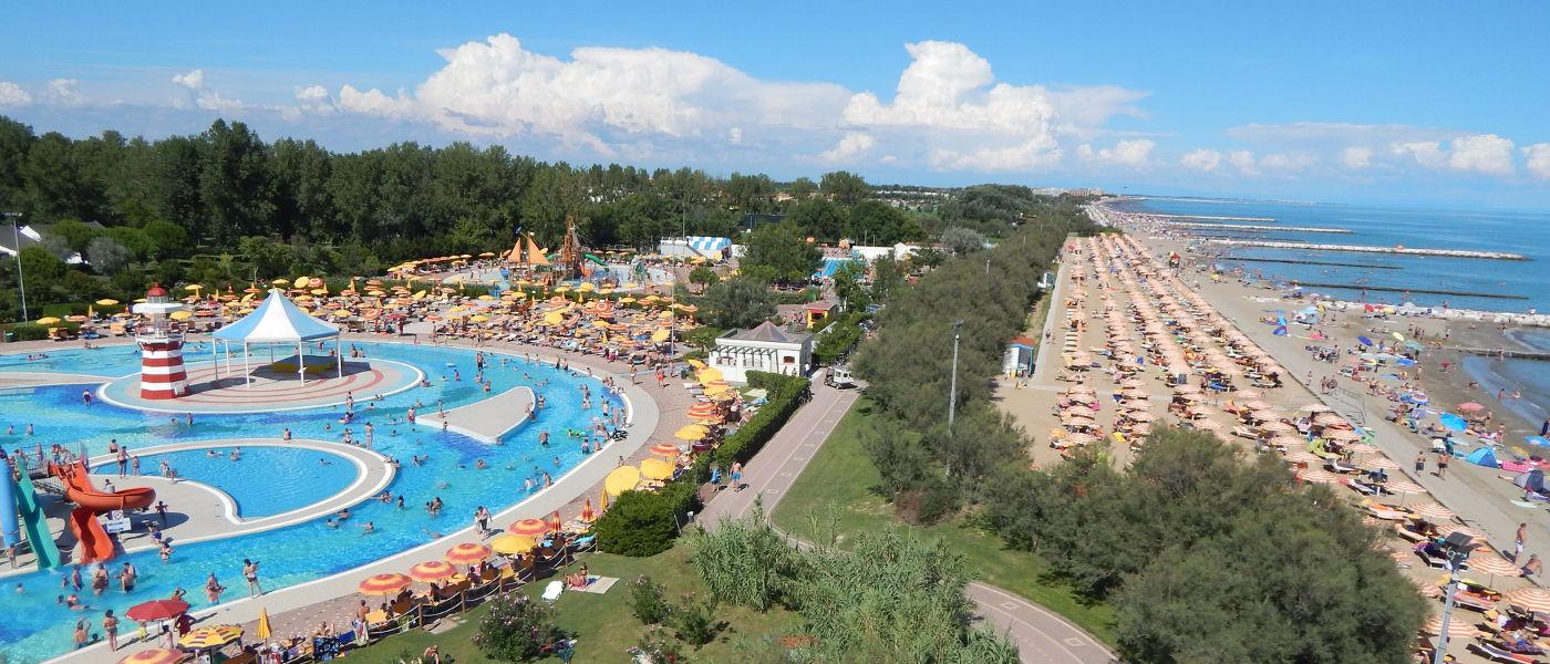 Pra Delle Torri Pools and Beach