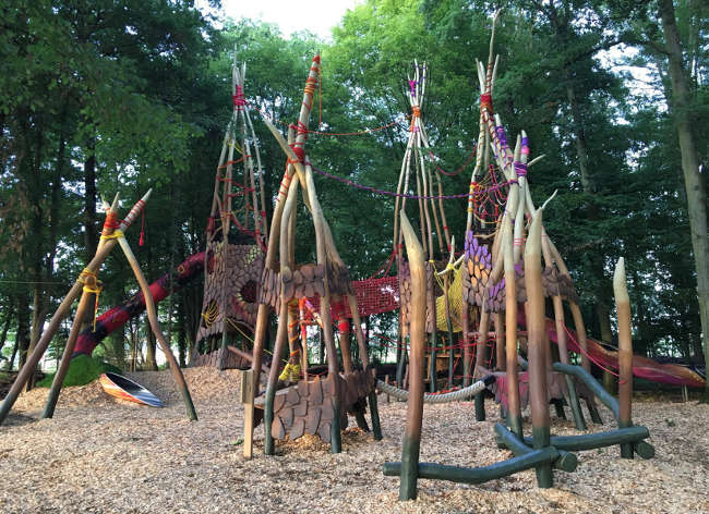 Firefly Holidays Villages Nature Forest Play Area