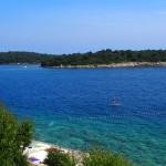Firefly Holidays Croatia Camping Lanterna Paddleboarder