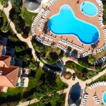 Firefly Holidays Eden Resort Pools Aerial