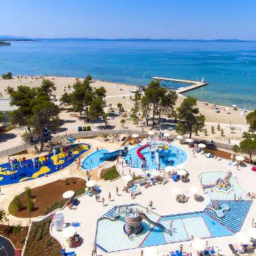 Firefly Holidays Zaton Holiday Resort Kids Pool Area 363