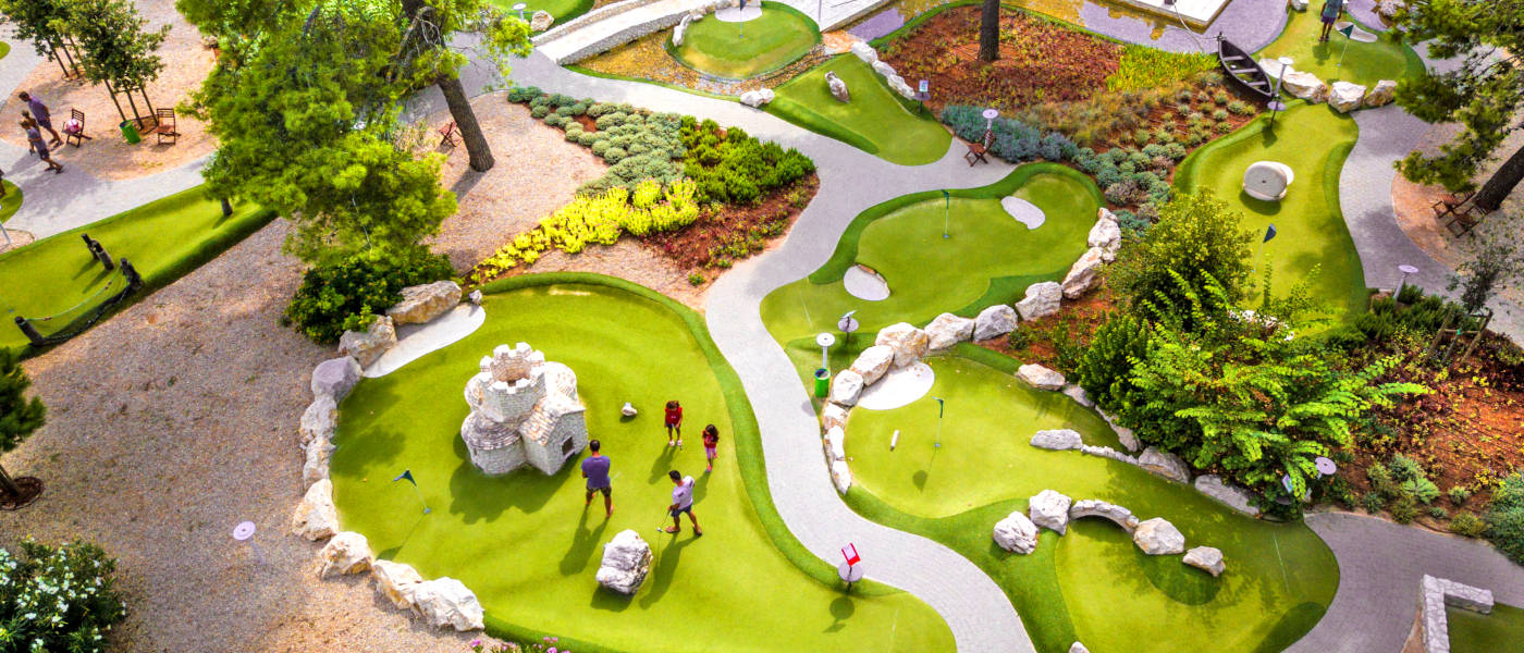 Zaton Mini Golf Aerial 1