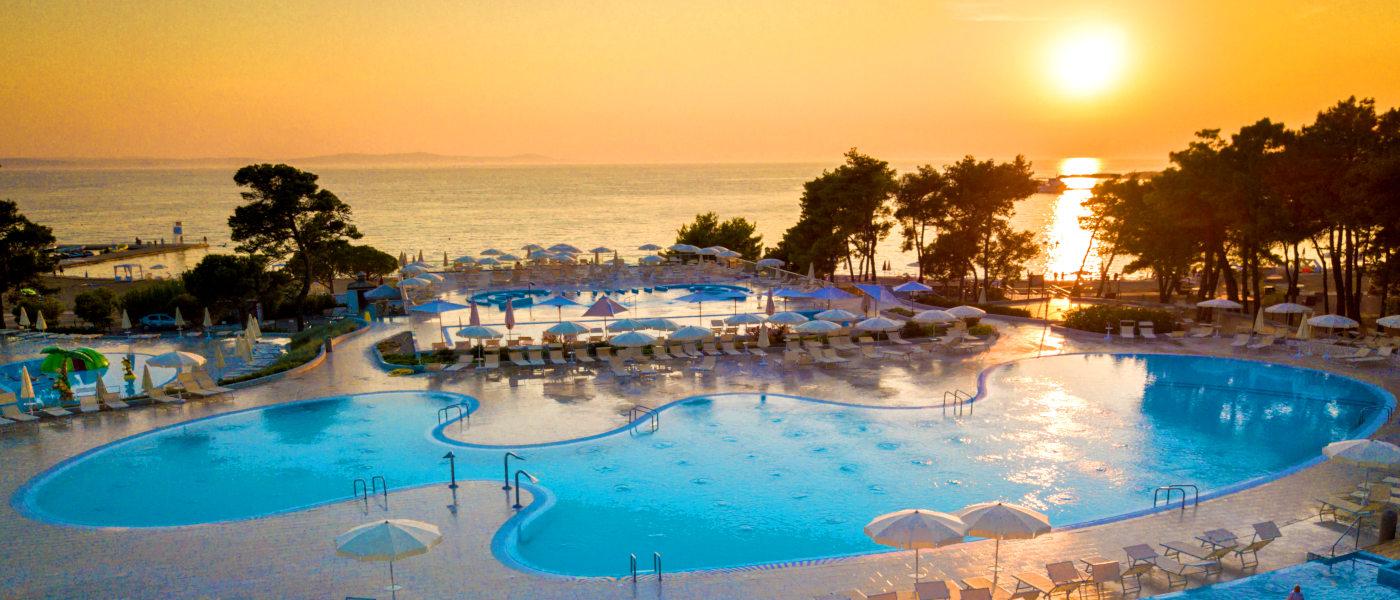 Zaton Pool Sunset