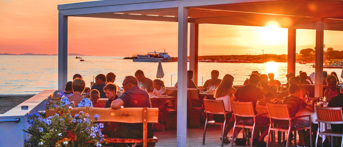 Zaton Resort Restaurant Sunset 1