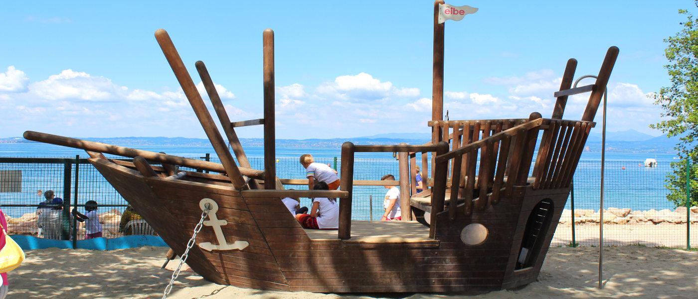 Firefly Holidays Cisano Pirate Ship