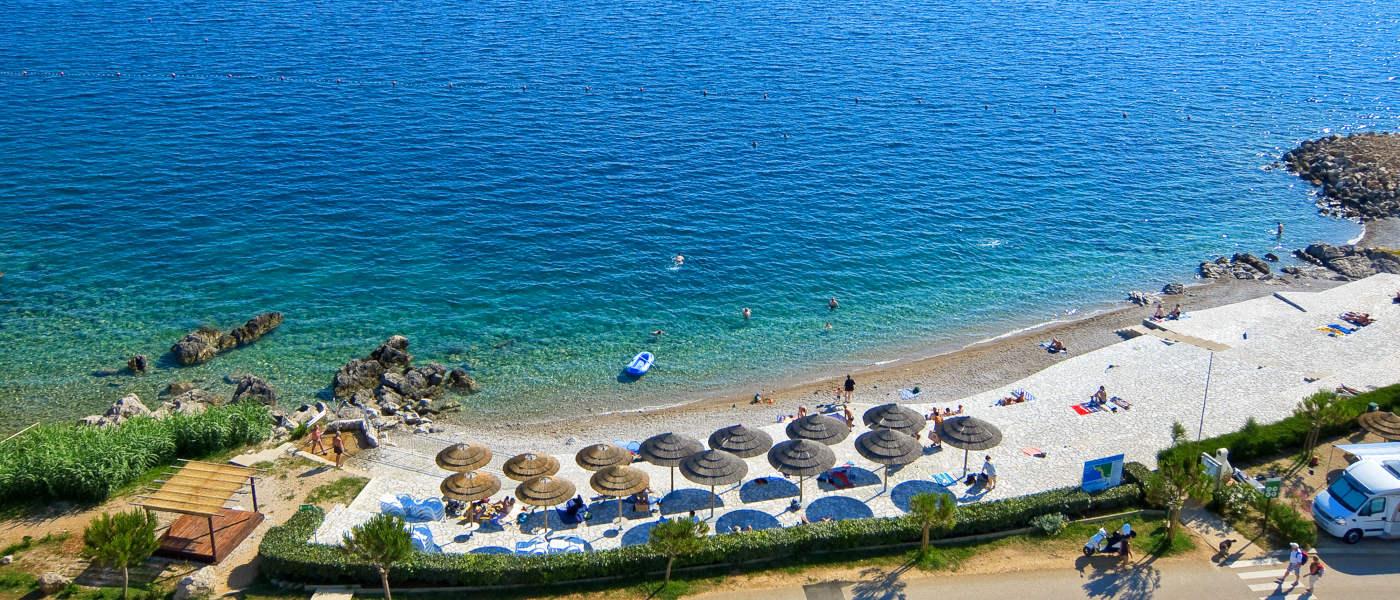 Firefly Holidays Krk Premium Camping Resort Beach 1