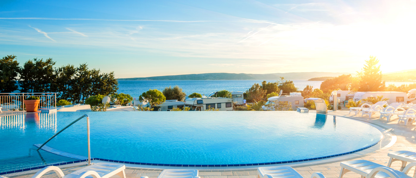 Firefly Holidays Krk Premium Camping Resort Infinity Pool