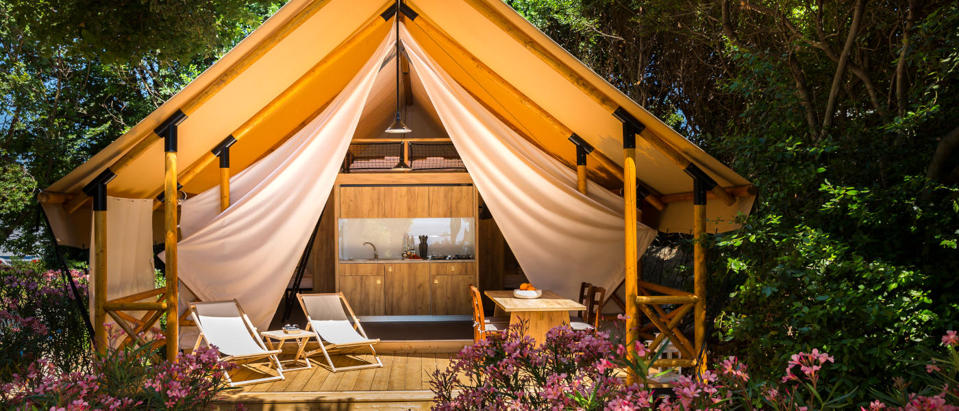 Firefly Holidays Krk Premium Camping Resort Safari Tent