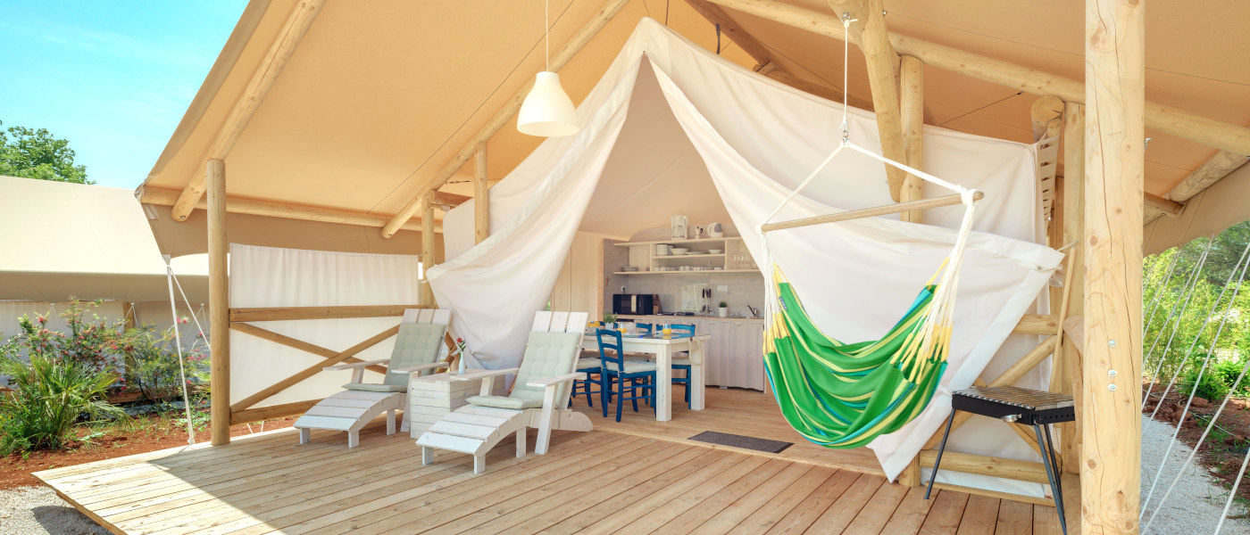Firefly Holidays Lanterna Premium Camping Resort Safari Tent