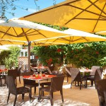 Firefly Holidays Sequoia Parc Restaurant Terrace