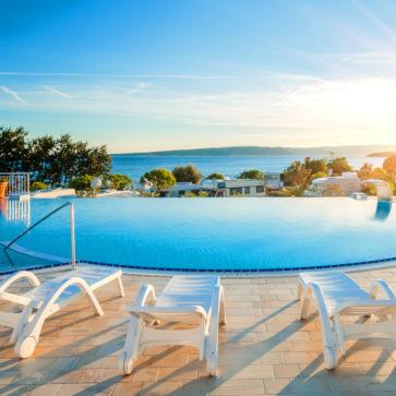 Firefly Holidays Krk Premium Camping Resort Infinity Pool 363