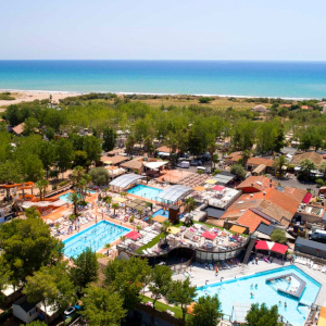 Firefly Holidays Les Sablons Aerial 300