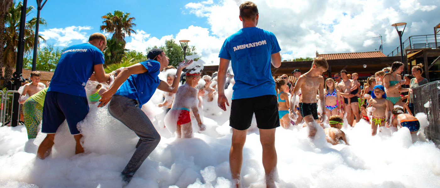 Firefly Holidays Les Sablons Foam Party 1