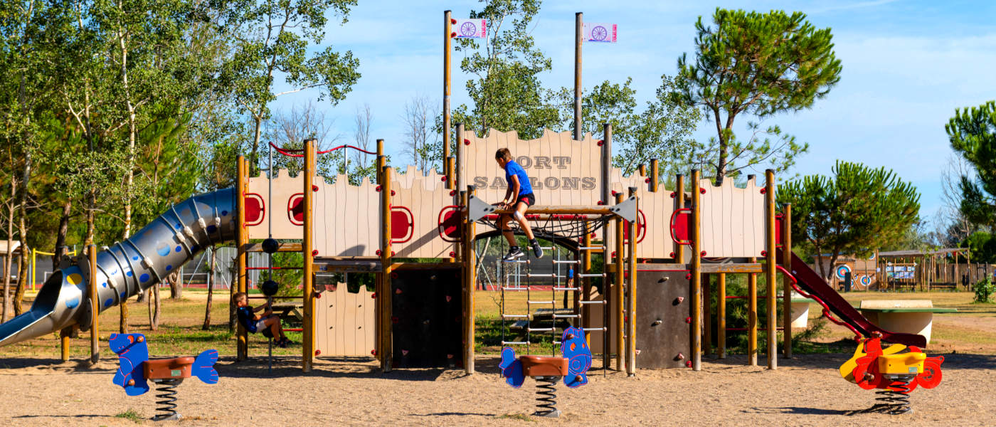 Firefly Holidays Les Sablons Play Area