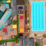 Firefly Holidays Les Sablons Pools Aerial